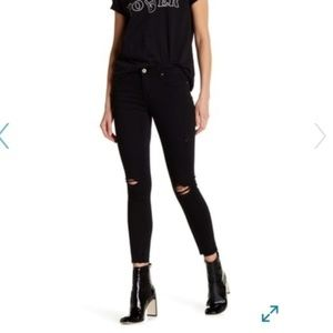 Articles of Society Heather Ripped High Rise Jeans